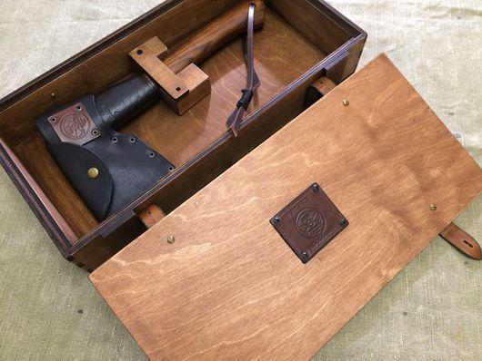 Подарки для мужчин, ручной работы. Ярмарка Мастеров - ручная работа. Купить Топор в подарочном ящике. Handmade. Подарок, подарок рыбаку