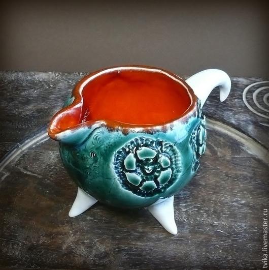 """Кружки и чашки ручной работы. Ярмарка Мастеров - ручная работа. Купить """"Сказки Гофмана"""", молочник, керамика ручной работы. Handmade."""