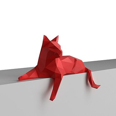 Для дома и интерьера ручной работы. Ярмарка Мастеров - ручная работа Кошка. Handmade.