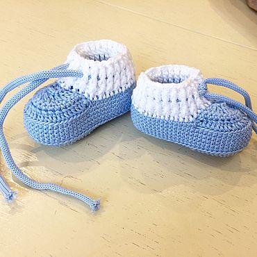 Обувь ручной работы. Ярмарка Мастеров - ручная работа Пинетки моксы. Handmade.
