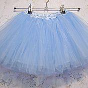 Детская юбка пачка из фатина для девочки 3-5 лет