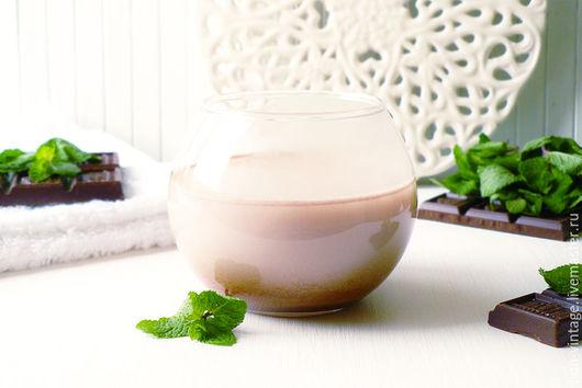 Пена, молочко для ванны ручной работы. Ярмарка Мастеров - ручная работа. Купить Шоколад и мята - молочная ванна. Handmade. Мятный