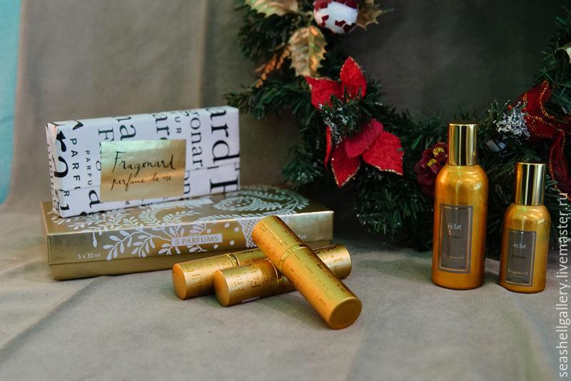 набор женских духов Fragonard Eclat Parfum купить в интернет