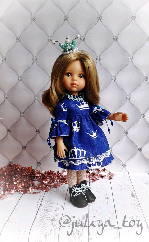 """Одежда для кукол ручной работы. Ярмарка Мастеров - ручная работа. Купить Комплект """"Корона"""" для paola reina. Handmade. Кукла"""