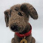 Мягкие игрушки ручной работы. Ярмарка Мастеров - ручная работа Собака такса. Handmade.