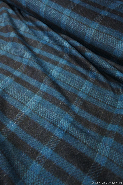Coat-suit wool ' sea wave Cage', Fabric, Taganrog,  Фото №1