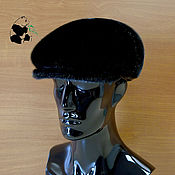 Аксессуары handmade. Livemaster - original item Mens fur soft cap. Petelinka Norwegian fur seals. Handmade.