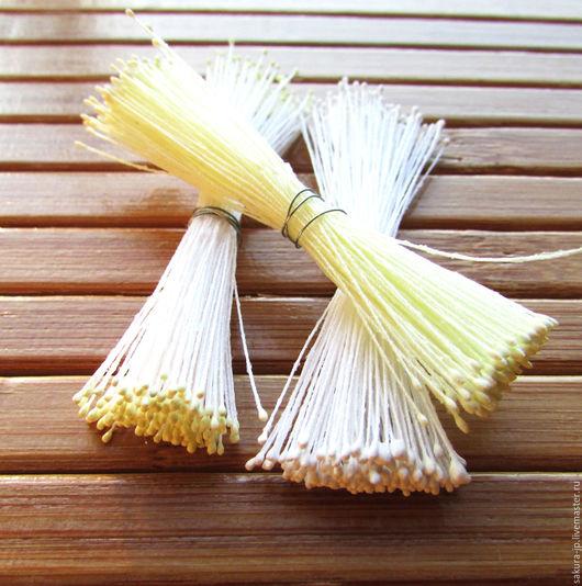 Японские тычинки Extra Small. `САКУРА` - материалы для цветоделия. Ярмарка мастеров.