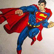 Одежда ручной работы. Ярмарка Мастеров - ручная работа Супермен. Handmade.