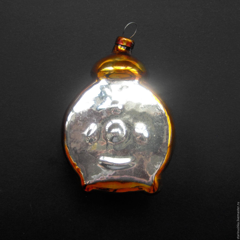 Украшение елочное ЕЛКА 11 см стекло