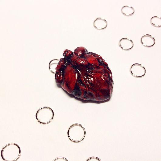 """Кулоны, подвески ручной работы. Ярмарка Мастеров - ручная работа. Купить Подвеска """"Сердце"""" . Возможно использовать как брелок.. Handmade."""