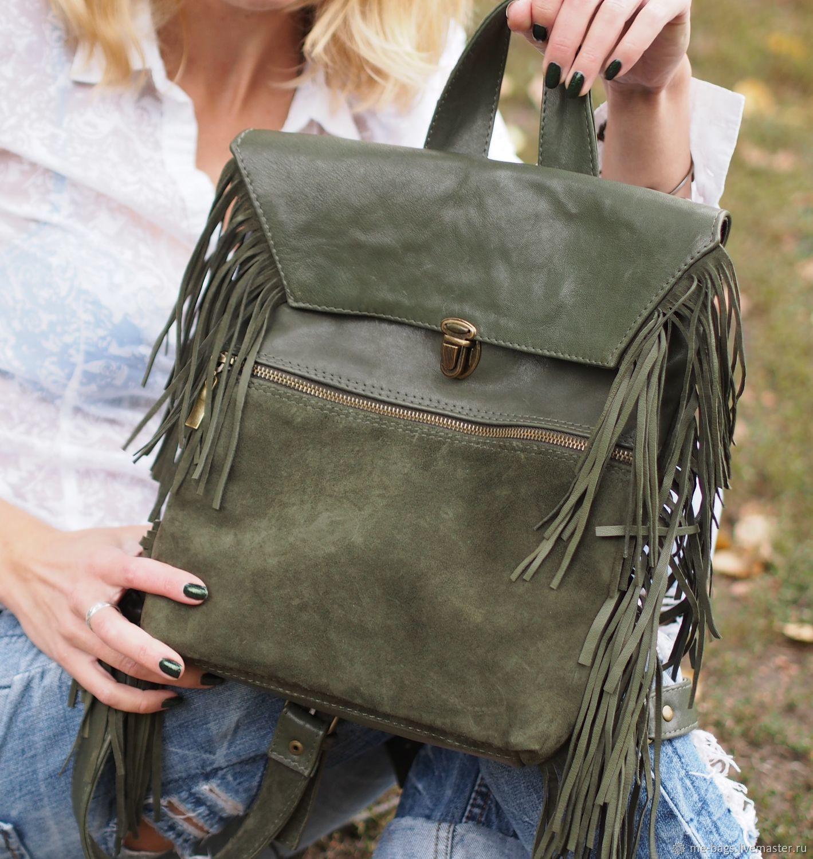 Sydney olive backpack Bag, Backpacks, St. Petersburg,  Фото №1