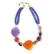 Украшения handmade. Livemaster - original item Large necklace under the neck