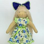 """Куклы и игрушки ручной работы. Ярмарка Мастеров - ручная работа Вальдорфская кукла """"Синеглазка"""" 30см. Handmade."""
