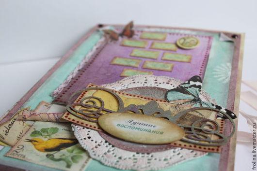 """Персональные подарки ручной работы. Ярмарка Мастеров - ручная работа. Купить Подарочная """"Книга воспоминаний"""". Handmade. Разноцветный, подарок на рождение"""
