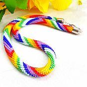 Necklace handmade. Livemaster - original item Harness-necklace