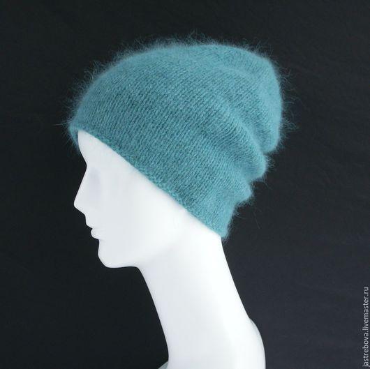 Шапки ручной работы. Ярмарка Мастеров - ручная работа. Купить Шапка вязаная женская, вязаная шапка-бини. Handmade.