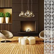 handmade. Livemaster - original item Wooden carved screen for interior. Handmade.