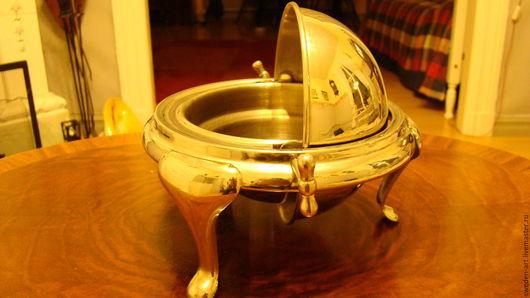 Винтажная посуда. Ярмарка Мастеров - ручная работа. Купить Масленка   Глобус Швеция. Handmade. Масленка, винтаж из европы, праздничная сервировка