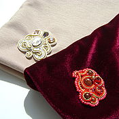 Аксессуары ручной работы. Ярмарка Мастеров - ручная работа Шапка с вышивкой. Handmade.
