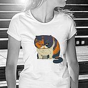 Одежда handmade. Livemaster - original item Kotofey T-Shirt. Handmade.