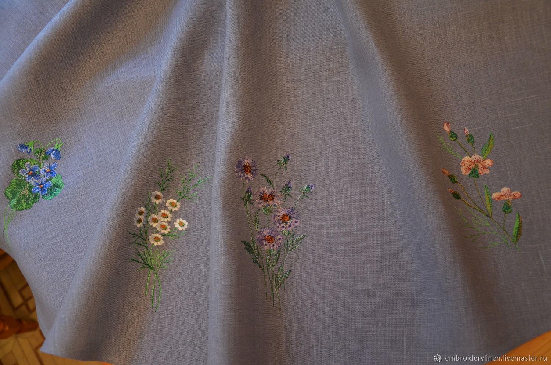 "Скатерть льняная "" Лесная поляна"", Tablecloths, Ramenskoye,  Фото №1"