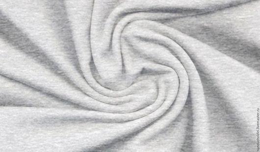 """Шитье ручной работы. Ярмарка Мастеров - ручная работа. Купить Трикотаж  """"Серый меланж"""". Handmade. Трикотаж, хлопковая ткань"""