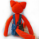 Order Knitted toy. Fox. GALAtoys. Livemaster. . Stuffed Toys Фото №3