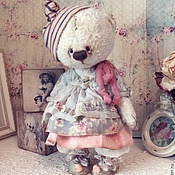 Куклы и игрушки ручной работы. Ярмарка Мастеров - ручная работа Мишка Милочка. Handmade.