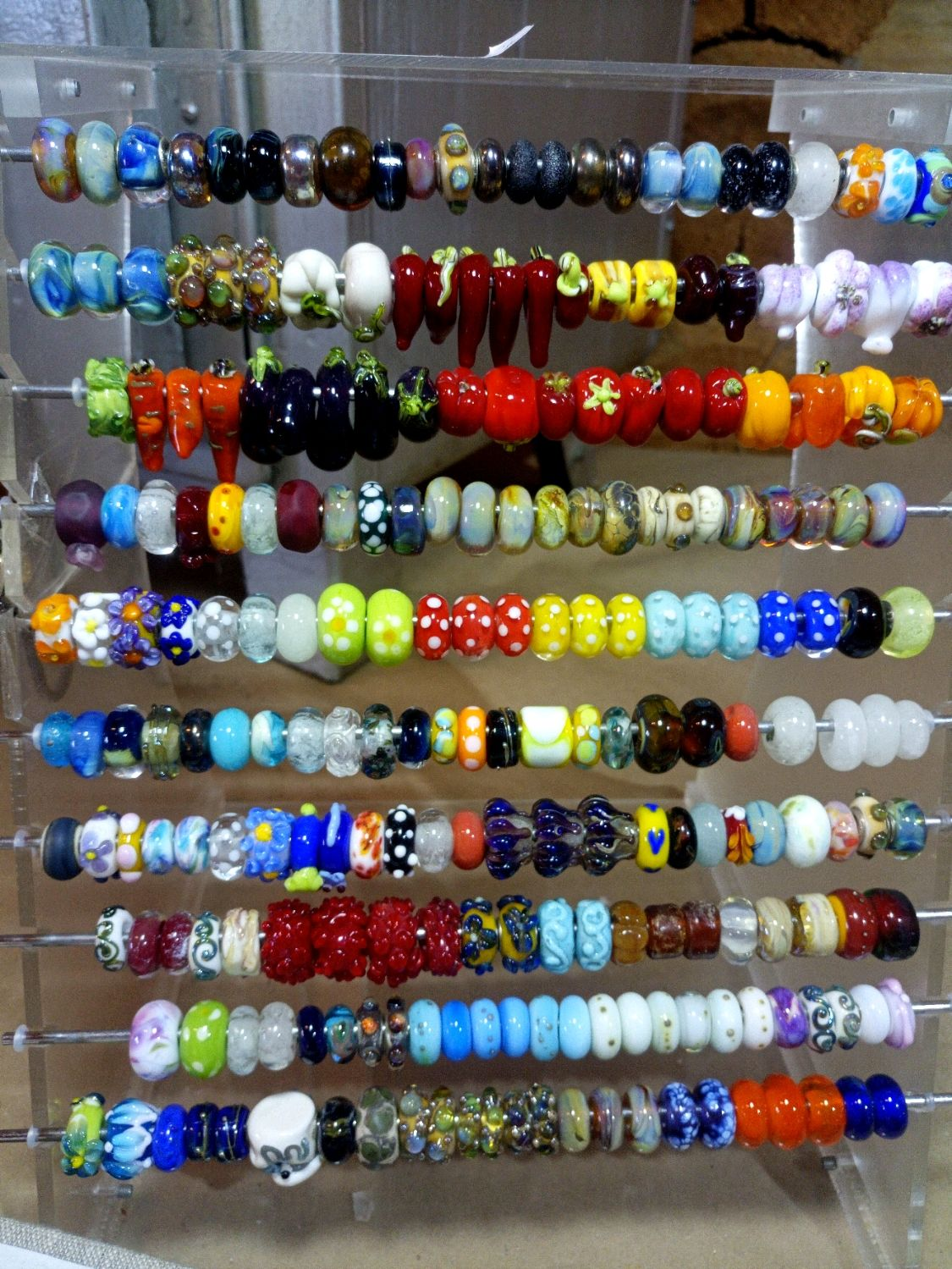 Beads with large hole for bracelet mix, Beads1, St. Petersburg,  Фото №1