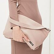 Сумки и аксессуары handmade. Livemaster - original item Shoulder bag Ash Rose Pud Bag made of genuine leather. Handmade.