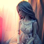Куклы и игрушки ручной работы. Ярмарка Мастеров - ручная работа Авторская шарнирная кукла Адель. Handmade.