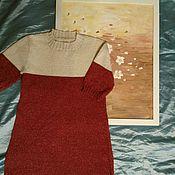Одежда ручной работы. Ярмарка Мастеров - ручная работа Платье - туника на девочку. Handmade.