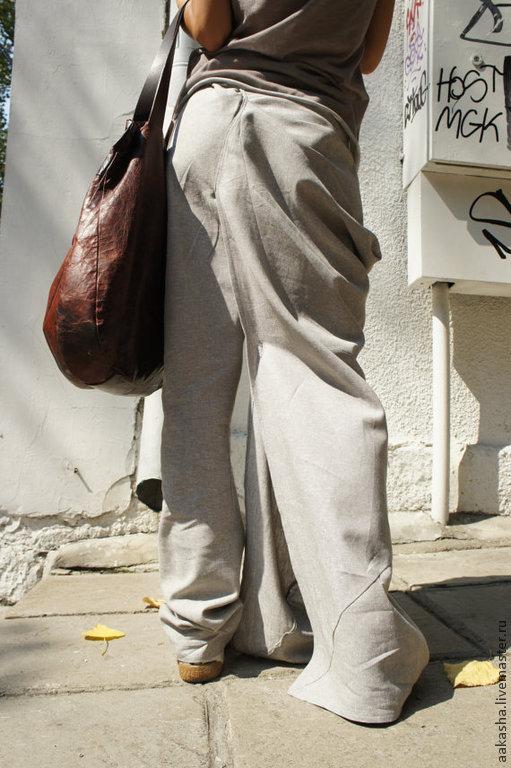 Купить брюки из льна