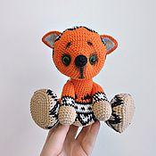 Куклы и игрушки ручной работы. Ярмарка Мастеров - ручная работа Жаккардовый лисенок. Handmade.