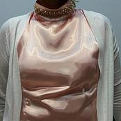 Одежда ручной работы. Ярмарка Мастеров - ручная работа Блузка с жемчугом. Handmade.