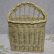 Для дома и интерьера handmade. Livemaster - original item Suspended basket of vines for detail. Handmade.