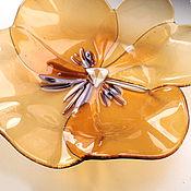 handmade. Livemaster - original item The candy bowl Blue-eyes. Glass, Fusing.. Handmade.