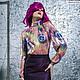 Юбки ручной работы. Ярмарка Мастеров - ручная работа. Купить блузка+юбка (6000 рублей). Handmade. Фиолетовый, блузка, юбка из жаккарда