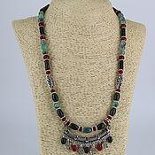 Украшения handmade. Livemaster - original item Necklace stones agate and carnelian