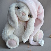 Teddy Toys handmade. Livemaster - original item Teddy Bunny the Guardian of dreams !. Handmade.