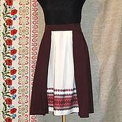 Народные костюмы ручной работы. Ярмарка Мастеров - ручная работа Юбка в славянском стиле. Handmade.