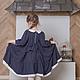 Одежда для девочек, ручной работы. платье для девочки Горошек. млета (mleta1). Ярмарка Мастеров. Платье нарядное, кокетка, штапель
