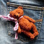 Куклы и игрушки ручной работы. Ярмарка Мастеров - ручная работа Мишка тедди.Карманный медведь). Handmade.