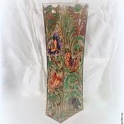 """Для дома и интерьера ручной работы. Ярмарка Мастеров - ручная работа Ваза """"Растительная жизнь"""". Handmade."""