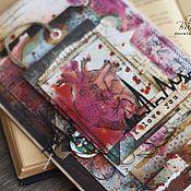Открытки ручной работы. Ярмарка Мастеров - ручная работа Валентинка мужчине в стиле Гранж. Handmade.