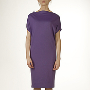 Одежда handmade. Livemaster - original item Dress Diamond purple convertible dresses, Jersey dress. Handmade.