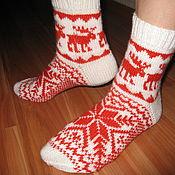 Аксессуары ручной работы. Ярмарка Мастеров - ручная работа носки. Handmade.