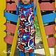 Одежда для девочек, ручной работы. Комплект для девочки-тройка: платье,  топ и легенсы.. Evnika - ателье - мастерская. Интернет-магазин Ярмарка Мастеров.