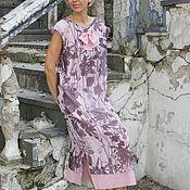 Одежда handmade. Livemaster - original item Chiffon double layer dress PINK DREAMS. Handmade.
